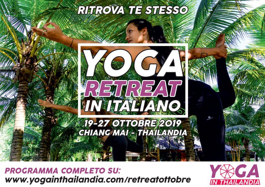 Yoga Retreat in Italiano - Ottobre 2019 - Yoga in Thailandia